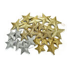 Glitter Stars Christmas Tree Decoration Xmas Party Hanging Ornament Decor JR