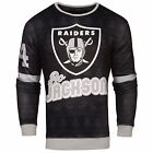 NFL Men's Oakland Raiders Bo Jackson #34 Retired Player Ugly Sweater
