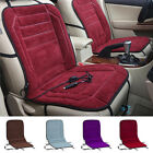 12V Car Electric Heating Seat Winter Tempering Heater Plush Cushion Single Seat