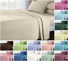 Full Percale Flat Sheet Bed Sheets 100% Poly Cotton Single Double King Super