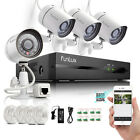 Funlux® 1280*720P HD IP Network Outdoor PoE CCTV Home Security Camera NVR System