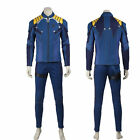 New Star Trek 3 Beyond Commander Battle Captain Kirk Cosplay Costume Full Suit