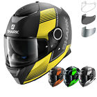 Shark Spartan Arguan Motorcycle Helmet & Visor Full Face Motorbike Crash Shield