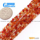 3mm Assorted Stones Faceted Round Seed Beads For Jewelry Making Free Shipping