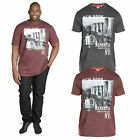Duke D555 Big Tall King Size Mens Wesley T Shirt New York Graphic Print Tee Top