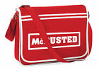 McBusted McFly Busted Messenger Shoulder Bag School Collage Sports Gym