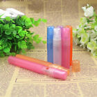 5 Pieces/lot 2 3 5 10 ml Empty Mini Perfume Mist Spray Plastic Sample Bottle