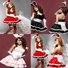 HOT Sale Plus Size Bunny Girl Adult Fancy Dress Costume for Hallowmas&Christmas