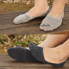 1 Pair Men's Casual Cotton Loafer Boat Non-Slip Invisible Low Cut No Show Socks