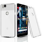 CLEAR ULTRA SLIM GEL CASE COVER & SCREEN PROTECTOR FOR GOOGLE PIXEL XL
