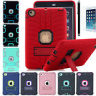 Shockproof Heavy Duty Rubber With Hard Stand Case Cover For  iPad Mini 1 /2/3/4