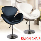 New Leather Style Beauty Salon Hairdresser Arms Chair Barber Adjustable Height