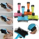 New Pet Puppy Dog Cat Large Shedding Grooming Hair Brush Comb 1 Pcs AN16
