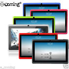 "7"" Hd Unlocked Tablet Wi-fi Pc 8gb Quad Core Google Android 4.4 Touch Tablet Usa"