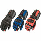 NITRO NG-101 LEATHER RACING SPORTS VENTILATED MOTORBIKE RACE MOTORCYCLE GLOVES
