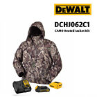 DeWALT DCHJ062C1 20V True Timber Camo Heated Jacket Kit w/ Battery and Charger