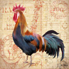 """CANVAS """"Coq Bleu Rooster"""" Gallery Wrapped Art Wall Decor by Jill Meyer"""