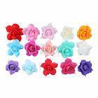 Artificial Flowers 8CM PE Foam Rose Heads DIY Wedding Bouquet Party Floral Decor