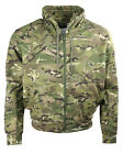 BTP - BRITISH TERRAIN PATTERN CAMO POLYCOTTON FLEECE LINED ZIPPED HOODIE,ARMY,UK