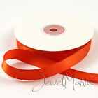 Premium DOUBLE FACED SIDED SATIN RIBBON Reels 50m x 3mm/ 25m x 10mm, 15mm, 25mm <br/> BUY 4 GET 1 FREE (Add 5)✔ ALL COLOURS BACK IN STOCK✔