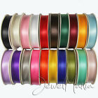 Premium DOUBLE FACED SIDED SATIN RIBBON Reels 50m x 3mm/ 25m x 10mm, 15mm, 25mm