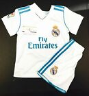 REAL MADRID HOME JERSEY 17-18 TODDLER, YOUTH & ADULT CUSTOM AVAILA  FASTSHIPPING
