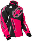 CastleX Womens Hot Pink/Black Launch G4 Snowmobile Jacket Snow Snocross