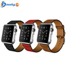 For Apple Watch Series 1/2 Single Tour Genuine Leather Watch band Strap 38/42mm