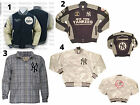 NEW YORK YANKEES RETRO MITCHELL & NESS LETTERMAN LEATHER WOOL JACKET ** RARE ** on Ebay