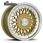 LENSO BSX BBSs RS STYLE DEEP DISH STAGGERED 15