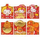 2017 SANRIO KITTY GUDETAMA BRONZING NEW YEAR CHIKCEN RED POCKET ENVELOPE (6843)