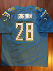 NFL San Diego Chargers Melvin Gordon Sewn/Stitched On Field Jersey NWT $54.99 USD