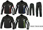MBSmoto MJ22 MAX MOTORCYCLE BIKE SCOOTER JACKET SUIT WITH FREE TROUSER