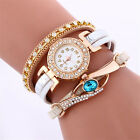 Fashion Women's Racelet Personality Bracelet Watch Quartz Wristwatch Rhinestone