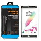 3X Premium Real Tempered Glass Screen Protector For LG Phoenix 2 / K8