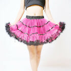 Women Petticoat 50s Vintage Rockabilly Net Underskirt Slips Weeding Dress Skirt