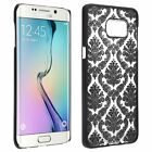 For Samsung Galaxy S8 Plus Vintage Damask Lace Pattern TPU Rubber Skin Case