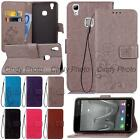 For Doogee X5 Max X5 Max Pro 3D Emboss Windbell PU Leather Stand Flip Case Cover