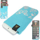 UNIVERSAL GENUINE  DESIGNER  MOBILE PHONE/IPOD/MP3 SOFT SOCK CASE COVER POUCH