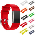 Personalized Replacement Silicone Watch Band Strap For Fitbit Charge 2 Wristband