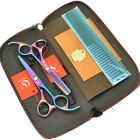 """5.5"""" Professional Hair Scissors Set Barber Hairdressing Cutting Thinning Shears"""
