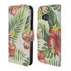 HEAD CASE DESIGNS TROPICAL PRINTS LEATHER BOOK WALLET CASE FOR HTC PHONES 1