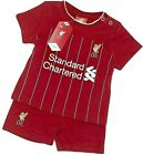 LIVERPOOL FC 2018 BABIES T SHIRT SHORTS SET KIT BABY SHORT SLEEVE PRAM SUIT LFC