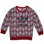 ADIDAS ORIGINALS ALL OVER PRINT TREFOIL KINDER CREW SWEATSHIRT MÄDCHEN BUNT