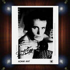 Adam Ant Stuart Leslie Goddard Signed Autographed Framed Photo/Canvas Print