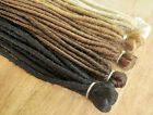 Dreadlock Extensions DOUBLE ENDED 50cm long when folded, 10 dreads/5 extensions