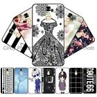"""For ZTE Blade A2 Plus 5.5"""" 3D Emboss Soft Gel Black Girl Case Cover Protector"""