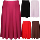 New Women Ladies Long Maxi ITY Skirt Plus Sizes 18-20 to 30-32