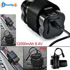 Rechargeable 8.4V Waterproof 18650 Battery Pack For Bicycle Bike light Headlamp