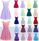 New Short Lace Prom Party Ball Bridesmaid Evening Cocktail Dresses Size 6-18